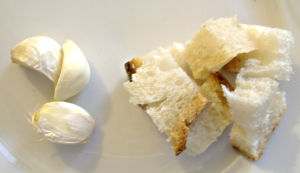 Pane ed aglio