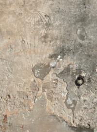 Paracadute con scritta NEMBO