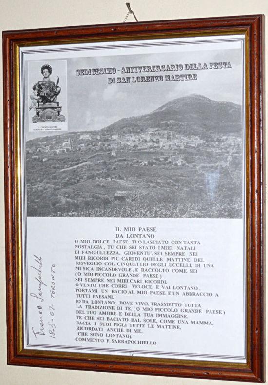 Poesia: Il mio paese dal lontano