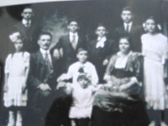 Famiglia Pezzillo agli inizi del '900