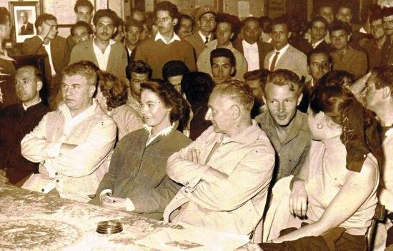 Il cast del film Maddalena in un incontro presso la Società Operaia di Cerreto Sannita