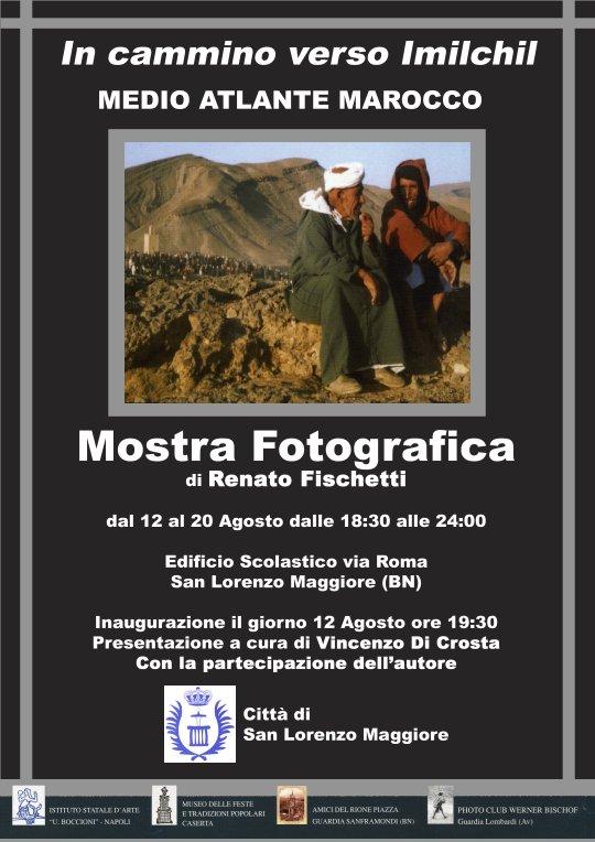Locandina mostra fotografica In cammino verso Imilchil di Renato Fischetti