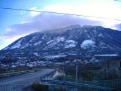 Monte Pentime con neve