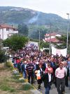 La coda della processione