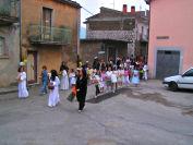 La processione del Corpus Domini in via Pendino