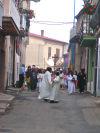 Processione proveniente da piazza Largo di Corte