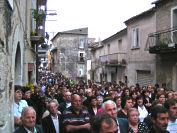 Processione in via Elci