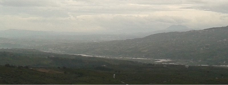 Esondazione del fiume Calore lungo la Valle Telesina